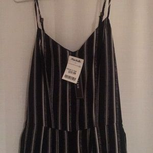 New with Tags. Monteau Black & White Jumpsuit.